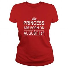 Cool 0816 August 16 Birthday Shirts Princess Born T Shirt Hoodie Shirt VNeck Shirt Sweat Shirt Youth Tee for Girl and Men and Family T shirts