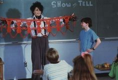 """DIY crafts are always the best for show and tell. 