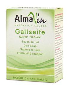 nur €  2,19. Almawin Gallseife. 100g. Die Seife gegen Flecken.