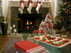 Living Room : Sweet Cristmas Tree With Brown Wooden Laminate Flooring Also Rectangle Table Glass And Mesmerizing Stacked Stone Wall Fireplace Besides Marble Wall Fireplace Enjoying Christmas Festivities In Living Room Small Living Room Christmas Decorating Ideas. Sweet Cristmas Tree. How To Decorate Your Living Room With Christmas Lights.