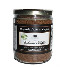 Colonnas Coffee Organic Colombian Coffee Extra Large Jar ** You can find more details by visiting the image link. (This is an affiliate link)