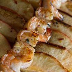Grilled Shrimp and Apple Skewers Allrecipes.com