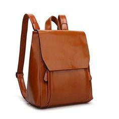 Z-joyee Casual Purse Fashion School Leather Backpack Shoulder Bag Mini Backpack for Women & Girls,White2