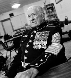 Sgt. Maj. Clifford M. Burks, 1923-2013, Semper Fi! My Marine, Us Marine Corps, Military Memes, Military Veterans, Military Weapons, Usmc Quotes, Quotes Quotes, Marines Boot Camp, Warrant Officer