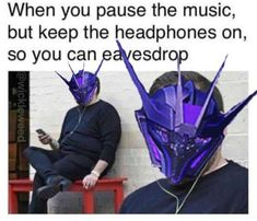 I McFrickin Love Soundwave! Transformers Soundwave, Transformers Memes, Transformers Characters, Transformers Bumblebee, Stupid Funny Memes, Hilarious, Sound Waves, Funny Pictures, Nerd Stuff