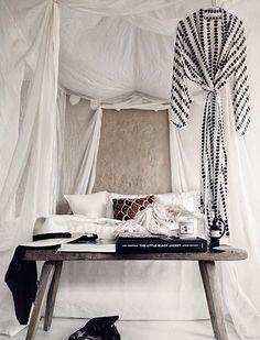 8 Stylish Ways to Make Your Bedroom a Chic Getaway via @PureWow