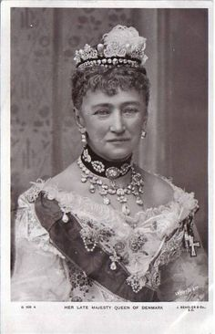 Queen Luise of Denmark, mother of Queen Alexandra,  Empress Marie Feodorovna, George of Greece, and Thyra, Crown Princess of Hanover, Duchess of Cumberland..