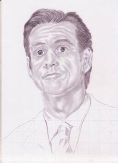 Point of Interest pada sketsa wajah jim carey