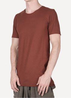 Daniel Andresen - JACK Short Sleeve T-Shirt https://cruvoir.com/en/daniel-andresen/1751-jack-short-sleeve-t-shirt-rust