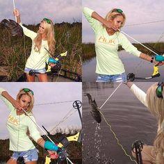 Bowfishing Trip with Brooke Thomas