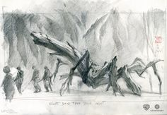 Kong Skull Island : 50 Original Sketches and Concept Art King Kong Skull Island, Islands In The Pacific, Animation Sketches, Jackson, Cryptozoology, Monster, Art Sketchbook, Drawing Reference, Recherche Google