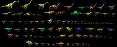 100 Dinosaur Sampler