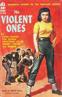 The Violent Ones: Powerful stories of the teenage jungle.