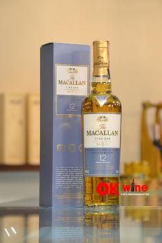 Виски Макаллан Файн Оак / Macallan Fine Oak, 12 лет, 40%, 0.5л, в коробке