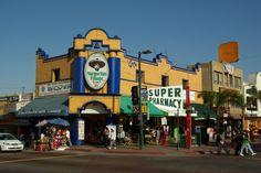 In Tijuana, the biggest margaritas!!! Great food!!!