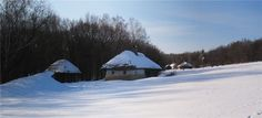 Украинская зима 37 ( этнографический музей Пирогово)