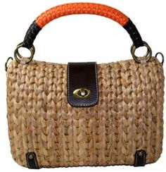 straw bag, Emmanuelle