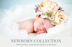 Newborn Baby Lightroom Presets by BeArt-Presets on @creativemarket