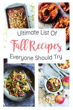 Looking for a little recipe inspiration this fall season? We have the ultimate list with more than 125+ incredible recipes that everyone should try. Happy cooking and baking!
