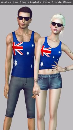 australia day flag shirts