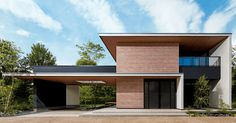 間取り|The Forest BF|木造注文住宅の住友林業 Flat Roof House, Facade House, House Front, Japanese Modern House, Modern Minimalist House, Modern House Facades, Modern Buildings, Modern Houses, House Architecture Styles