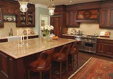 Beautiful Kitchens | ... kitchen. What a beautiful kitchen, the style is very traditional & like the countertops