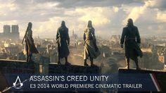 Assassin's Creed Unity E3 2014 World Premiere Cinematic Trailer [US]