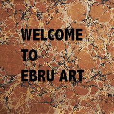 Ebru workshop: materials