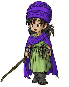 Young Hero - Characters & Art - Dragon Quest V: Hand of the Heavenly Bride