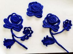 Crochet Flower - Lace Rose - YouTube