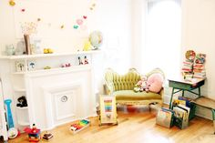 Love Taza//Rockstar Diaries nursery - Suzette and Charles spotted!