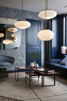 Take a look at this stunning mid-century lighting design and get inspired | www.delightfull.eu #uniquelamps #lightingdesign #midcenturylighting