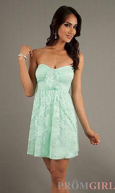 dresses&lt3 on Pinterest  Strapless Party Dress Embellished Dress ...