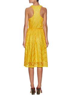 Scoopneck Midi Dress  from M Missoni on Gilt