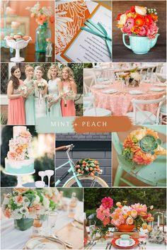 Unique Wedding Color Combos for 2020 You'll Love Lavender Wedding Colors, Yellow Wedding Colors, Unique Wedding Colors, Wedding Mint Green, Summer Wedding Colors, Wedding Color Schemes, Wedding Themes, Mauve Wedding, Colour Schemes