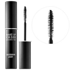 Shop MAKE UP FOR EVER's Excessive Lash Arresting Volume Mascara at Sephora. It creates alluring high volume that instantly enhances lash looks. Parisian Makeup, Volume Mascara, Professional Makeup Artist, Makeup Forever, Wedding Beauty, Travel Size Products, Eyeliner, Eye Makeup, Make Up