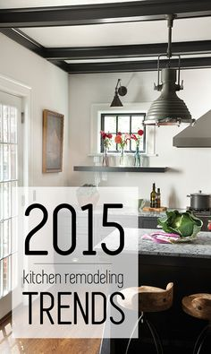 Click here for the hottest 2015 #kitchen remodeling trends. #home #interiordesign