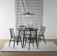 Table And Chairs, Dining Chairs, Dining Table, Home Collections, Chair Design, Malli, Koti, Interior Design, Inspiration