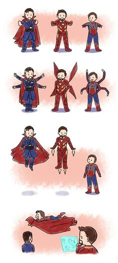 Avengers Infinity War || Dr. Strange, Spider-Man & Iron Man || Cr: moyhconan
