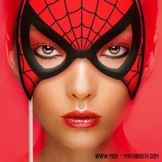 Spiderman Photobooth Accessoire - Mon Photobooth