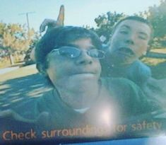 #throwbackthursday circa 2008 featuring the #babymabie and myself as seen through the reverse camera on a prius  word to @royblair for winning puberty  #itsthethought #thethought #thethoughthere #thethoughtjfm #trainofthoughtuno # #hiphop #hiphopartist #hiphopemcee #blaqknoiz #blaqknoizartist #blaqknoizemcee #anthrolyricology #boombap #fordilla #dilla #rap #emcee #hiphoplife #hiphopheads #goodmusic #pomona #losangeles #inlandempire #untappedhiphop #youhearingme