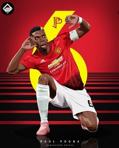 #PaulPogba edit⭐😍🔴 Paul Pogba Manchester United, Manchester United Team, Manchester United Wallpaper, Football Is Life, Football And Basketball, Football Players, Pogba Wallpapers, Football Awards, Football Design