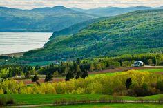 Les Éboulements (Quebec, Canadá): un abanico de tonalidades. - 50 paisajes donde siempre debería ser primavera