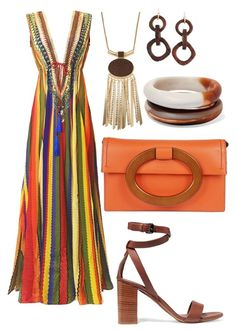 """Rebeca"" by anitamg on Polyvore featuring Michael Kors, NEST Jewelry, Vince and Dinosaur Designs"