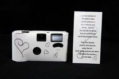 Hearts Disposable 36 Exp Wedding Bridal Camera with Flash and Table Card for sale online Table Cards, Photo Booth, Perfect Wedding, Wedding Planning, Wedding Ideas, Entertaining, Hearts, Bridal, Inspiration