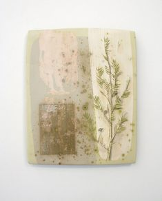 This listing is for a large rectangular ceramic tile featuring a botanical drawing of juniper branch with berries. This piece is from my most