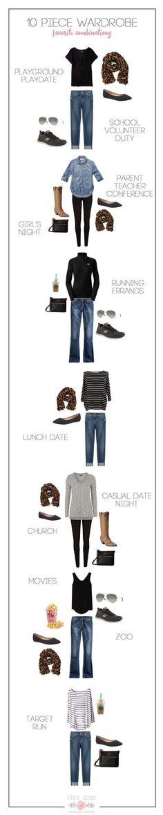 I must be crazy, but I want to do this Minimalist Wardrobe challenge so bad! You wear only 10 items. Can I do it?