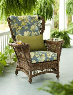 "Lake House Reader's Armchair #37-146 Gardener's Supply 41 3/4""h x 38""w x 41""d"