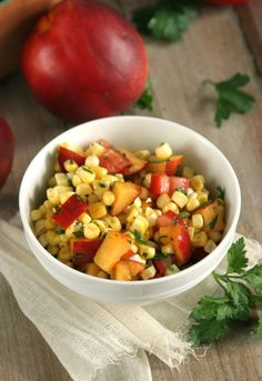 Sweet + Spicy Corn Salsa