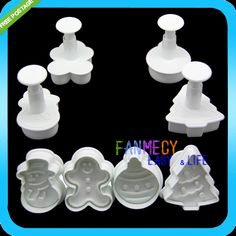 4Pcs Christmas Snowman Fondant Cake Mold Biscuit Cookie Plunger Cutters Sugarcraft Tool Cake Decorating Tools kitchen tool-in Cake Molds from Home & Garden on Aliexpress.com | Alibaba Group